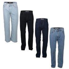 Jeans da uomo tagliamo classici , dritti neri