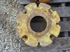 John Deere Jd Tractor Small Wheel Weight