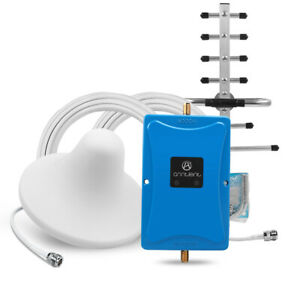 Mobile Amplifier 850/1900MHz Cell Phone Signal Booster Antenna Kit For Band 2&5