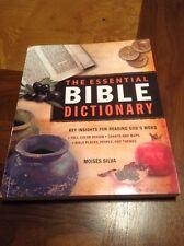The Essential Bible Dictionary - Zondervan - $16.99 Retail - Moises Silva