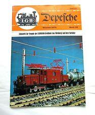 LGB DEPESCHE Magazine Winter 1978 Heft 36 Printed in German in Germany Scarce