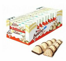 Kinder Bueno WHITE Case of 30 bars. ( 43 g x 30 bars)  Free Shipping