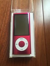 Apple 8GB iPod Nano 5th Generation Pink Camera A1320 NEW