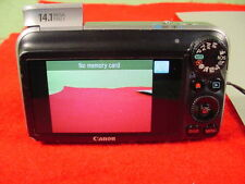 Canon PowerShot SX210 IS 14.1 MP Camera 5-70 mm Lens W/ Charger Tested Working