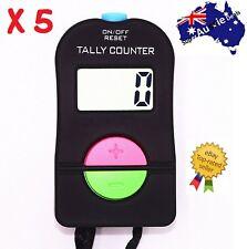 Digital Electronic Hand Tally Head Counter Clicker - Bouncer Crowd Sport Golf