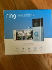 Ring Video Doorbell 2 Wireless WiFi Door Bell 1080p HD(NEW SEALED) FREE SHIPPING