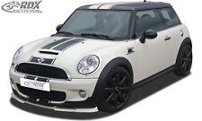 Lip spoiler,Bumper, Extension, Splitter,Front Spoiler MINI R56 / R57 Cooper S
