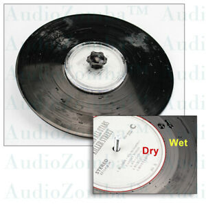 VINYL RECORD CLEANING LABEL SAVER PROTECTOR  WATERPROOF AUDIOPHILE PRODUCT