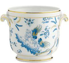 Oro di doccia Turchese Vaso cachepot Medio porcellana Richard Ginori
