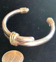 Mexican Sterling Bangle Cuff Bracelet Celia Taxco