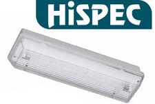 10 x hispec non mantenuto PARATIA di emergenza uscita Raccordo di luce ip65 8w nm3 3hr
