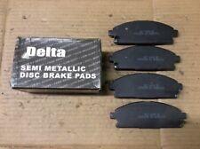 New Delta Semi Metallic Disc Brake Pad Pads Front 762-D855