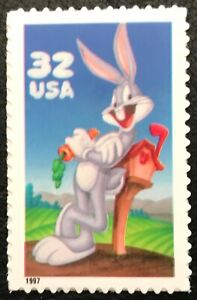 1997 - Scott# 3137a - 32¢ - BUGS BUNNY - Booklet Single - Mint NH