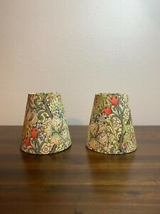 Willliam Morris Golden Lily Fabric Sconce Chandelier Lampshade