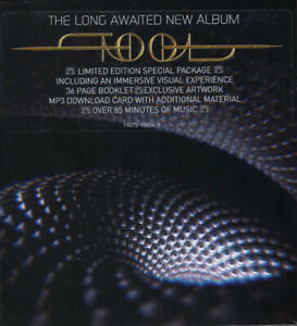 TOOL FEAR INOCULUM VARIANT 1 SUPER DLX CD WITH SPEAKER / BOOK BFAND NEW IN AU R