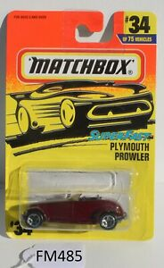 Matchbox Superfast MBX Plymouth Prowler Purple FNQHotwheels FM485