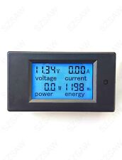 DC 6.5-100V 0-50A Voltage Current Power Energy Combo Meter Car Battery Monitor
