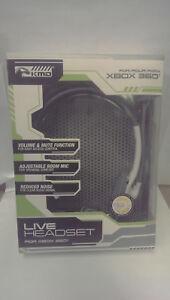 Xbox 360 White Headset KMD