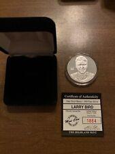 Larry Bird Hardcourt Legends Highland Mint one Troy Ounce