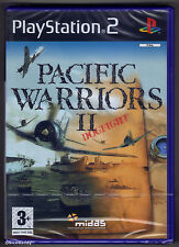 PS2 Pacific Warriors II 2 (2004), UK Pal, Brand New & Sony Factory Sealed