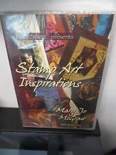Stamp Art Inspirations with Mary Jo McGraw DVD BRAND NEW Rare