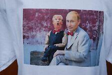 Putin Trump mens T shirt cotton , S,M,L,XL, Putin's Puppet