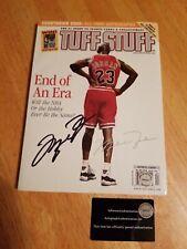 Michael Jordan Autographed Signed April 1999 Tuff Stuff Full Magazine w/ COA