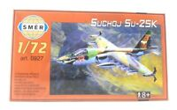SMER Modellbau Kunststoff Modellbausatz Militär 1:72 Flugzeug Suchoj SU 25K