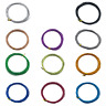 ALUMINIUM JEWELLERY CRAFT WIRE 0.8mm 1mm 1.5mm & 2mm EXCELLENT QUALITY