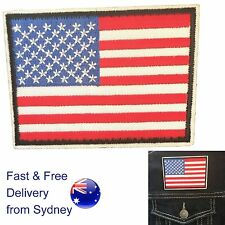US Flag iron on patch USA flag Stars and stripes United states transfer patches
