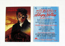 Lot of (50) 1999 Inkworks Tim Burton's Sleepy Hollow Promo Card (P1) Nm/Mt Depp