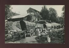 Ceylon Sri Lanka TEA INDUSTRY Carting tea c1920/30s? RP PPC social history