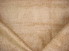 9+Y LEE JOFA PARCHMENT / MOCHA GEOMETRIC CHENILLE UPHOLSTERY FABRIC