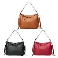 Hobo Leather Women Ladies Large Totes Shoulder Handbags Crossbody Messenger Bags