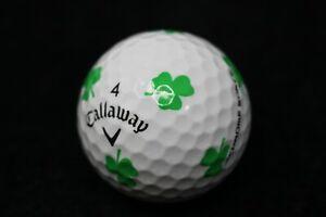 12 Callaway Chrome Soft Truvis Shamrock AAAA/Near Mint Recycled Golf Balls