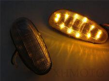 LED Flush mount Turn Signal for 2001-2004 SUZUKI GSX-R GSXR 600 750 1000 Clear