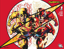 FLASHPOINT #1 SDCC 2011 VARIANT WRAP AROUND COVER  DC COMICS NM