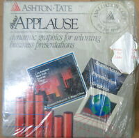 DRAW APPLAUSE, by Ashton-Tate. 1988. Version 1.0. For IBM 5 1/4 Complete, unused