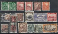 New Zealand 1935 Pictorial Set To 3/- SG556/569 Fine Used J8302