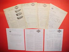 1957 CHRYSLER IMPERIAL GHIA LIMOUSINE REAR SEAT PHILCO AM RADIO SERVICE MANUAL