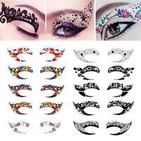 Makeup Eye Temporary Tattoo Facial Face Transfer Sticker Beauty Tattoo-Halloween