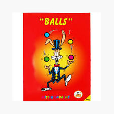 """Mister Babache """"Balls"""" Juggling Book - NEW"""