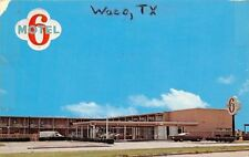 Waco Texas~Motel 6 Of Waco~1960s White Van PC