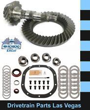 "Richmond Excel Gear Set 8.2"" 3.73 10 Bolt Car 55-64 Drop Out GM + Master Kit"