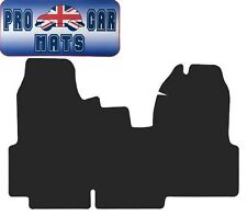 FORD TRANSIT MK7 VAN (2007-2014) BLACK CARPET FULLY TAILORED VAN FLOOR MATS