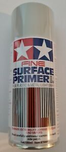 Tamiya 87064 180 ml Fine Surface Primer L Spray for Plastic and Metal - Light G…