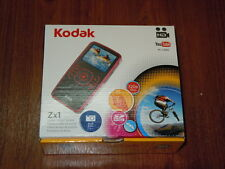 New in Box - Kodak Zx1 Edition 128 MB Pocket Camcorder  - BLUE - 041778364567