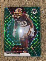 Landon Collins 2020 Mosaic Green Prizm Washington Redskins #199