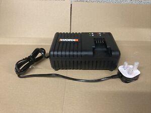 Worx 18v (20v MAX) power share charger WA3867 brand new Upto 6.0Ah Batteries