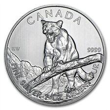 1 oz Kanada Puma Cougar 2012 Canadian Wildlife Series 999 Silber Silbermünze